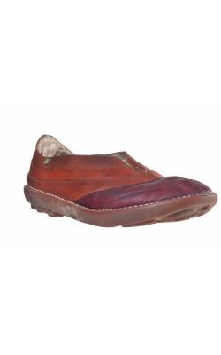 Pantofi piele El Naturalista, calapod lat, marime 41