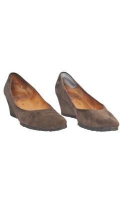 Pantofi piele Gabor, marime 39 calapod lat