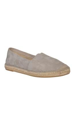 Pantofi piele gri Vidoretta, marime 39