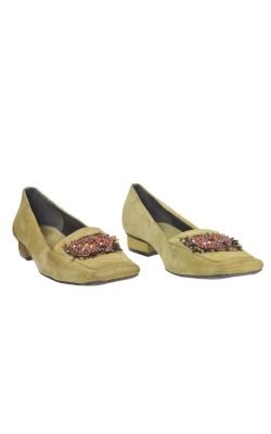 Pantofi piele intoarsa Kroq, marime 40
