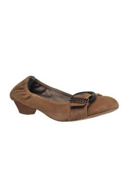 Pantofi piele intoarsa Tamaris, marime 39