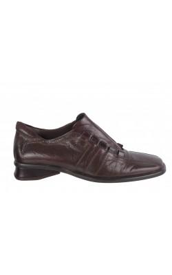 Pantofi piele maro Jan Baran, marime 36.5
