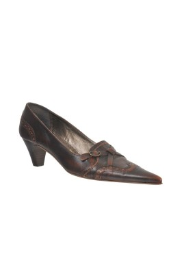 Pantofi piele naturala 5th Avenue, marime 38