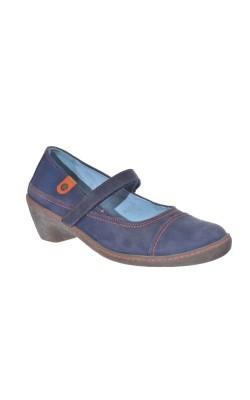 Pantofi piele naturala Easy, marime 39 calapod lat