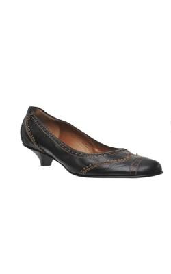 Pantofi piele naturala Lario, marime 36.5
