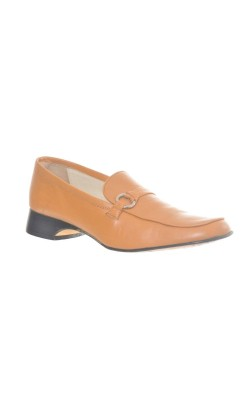 Pantofi piele naturala Roberto Santi, marime 40, calapod lat