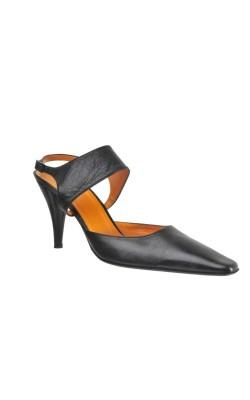 Pantofi piele naturala Stiefel Konig, marime 38