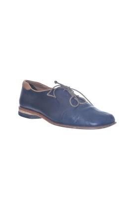 Pantofi piele naturala Vabene, marime 39 calapod lat