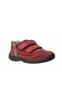 Pantofi piele rosie Naturino, marime 25
