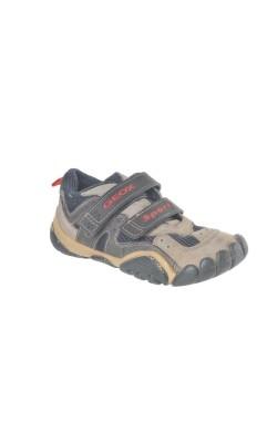 Pantofi piele si mesh Geox, marime 29
