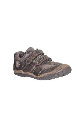 Pantofi piele sintetica Wood Stone, marime 34
