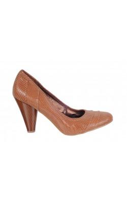 Pantofi piele stantata Restricted, marime 38.5