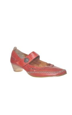 Pantofi piele Va Bene, marime 37, calapod lat