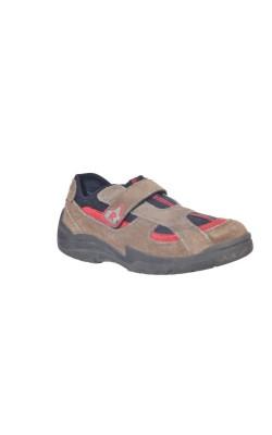 Pantofi Robusto, piele intoarsa, marime 34