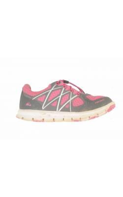 Pantofi roz cu gri Viking, marime 31
