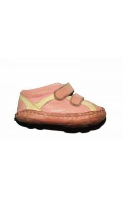 Pantofi roz Elefanten, piele naturala, marime 19
