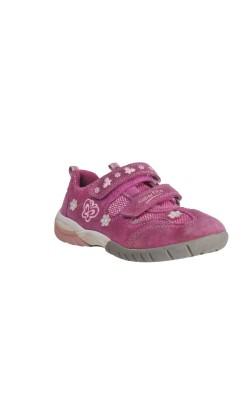 Pantofi roz piele intoarsa Superfit, marime 30