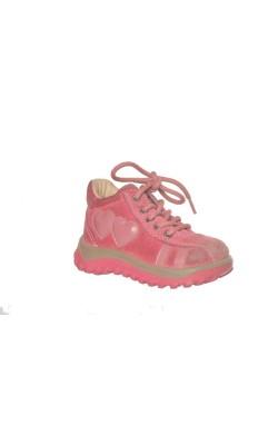 Pantofi roz Skofus Action, piele, Shock Absorber, marime 20