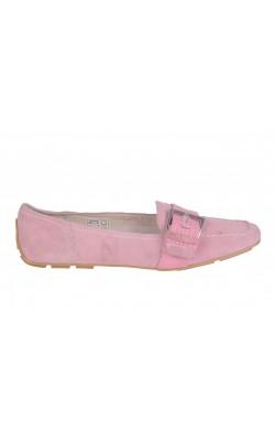 Pantofi roz TCM, piele naturala, marime 38