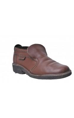 Pantofi Servas, piele naturala, marime 39, calapod lat