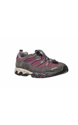 Pantofi sport Meindl, piele intoarsa si mesh, marime 30