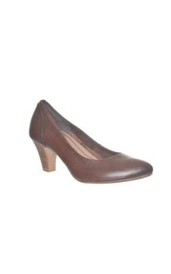 Pantofi Tamaris, piele naturala, foarte usori, marime 37