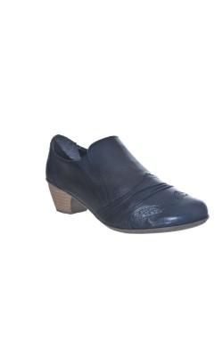 Pantofi usori din piele naturala Rieker, marime 38