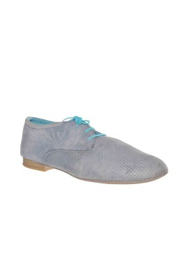 Pantofi usori marime 40, Tamaris, calapod lat, piele naturala