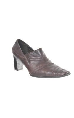 Pantofi usori piele naturala Janet D., marime 40