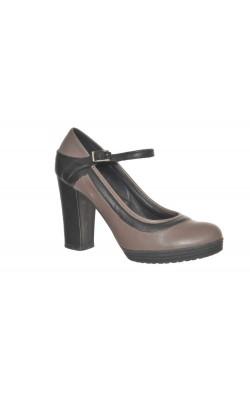 Pantofi Zamagni, piele naturala, marime 37.5