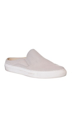 Papuci din piele Skechers Air-Cooled Memory Foam, marime 37