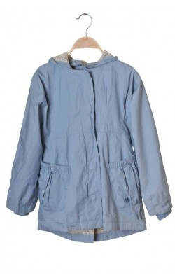 Parka bleu din bumbac Name It, 9 ani