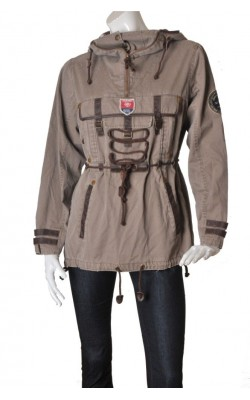 Parka taupe Jean Paul Limited Edition, marime 42
