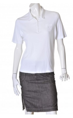 Polo alb Gerry Weber, marime XL