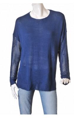 Pulover albastru Ellos, marime 52/54