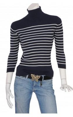 Pulover tricot reiat din bumbac Ralph Laurem, marime 38