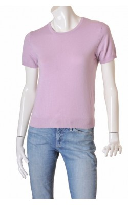 Pulover Claire, tricot fin lila, marime M