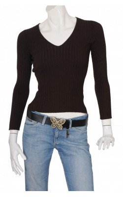 Pulover tricot reiat Guess Jeans, marime S
