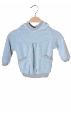 Pulover fleece Pomp de Lux, 12-18 luni
