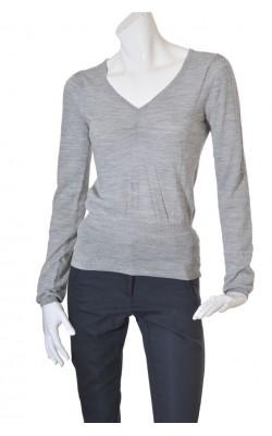 Pulover gri lana amestec H&M, marime M