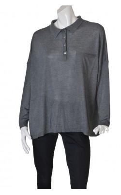Pulover gri Zara, marime XL