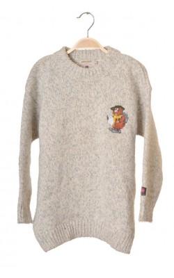 Pulover gros din lana pura virgina Devold, 10-11 ani