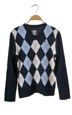Pulover H&M L.og.g.g., bumbac si lana, 11-12 ani