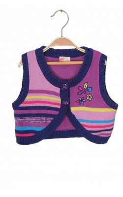 Vesta tricot bumbac Me Too, 5-6 ani