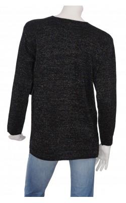 Pulover tricot fin cu fir metalic Karen Scott, marime L