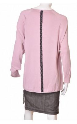Pulover lila tricot fin Zizzi, marime XXXL