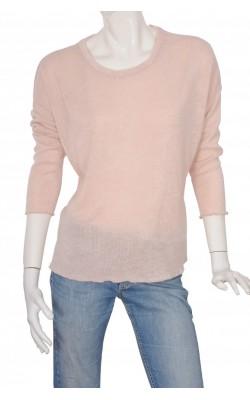 Pulover oversized Bik Bok, roz pal, marime M