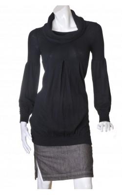 Pulover-rochie tricot negru Express Design Studio, marime 34