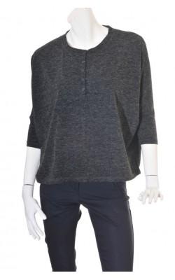Pulover supradimensionat din tricot fin Zavanna, marime M