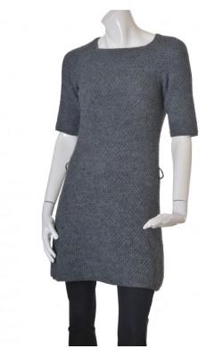 Pulover tip rochie Mexx, tricot calduros lana amestec, marime M